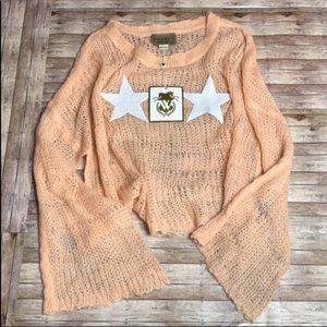 NWT Wildfox Oversized Loose Knit Sweater